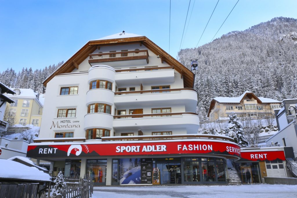 Sport Adler, Ischgl, Mogasi