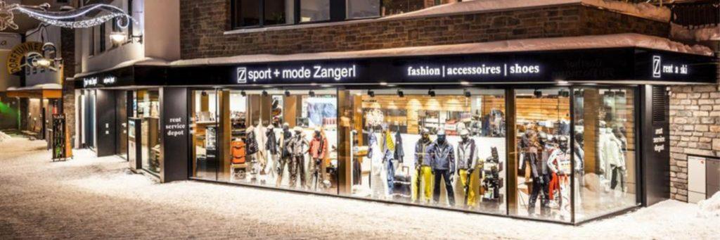 Sport Zangerl, Ischgl, Mogasi