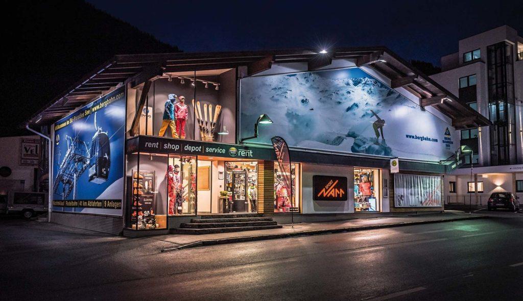 Sport Narr, Skiurlaub in See, Mogasi
