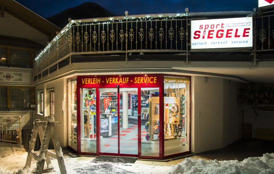 Skiurlaub in Kappl, Sport Siegele, Mogasi