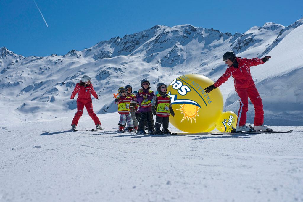 Skiurlaub in See, Skischule See, Mogasi
