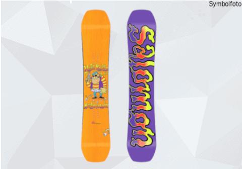 Salomon Snowboard für Jugendliche, Vorder- und Rückseite, Mogasi