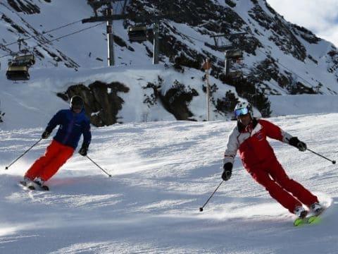 Skikurs Privat im Skigebiet Galtür bei der Skischule Silvretta Galtür