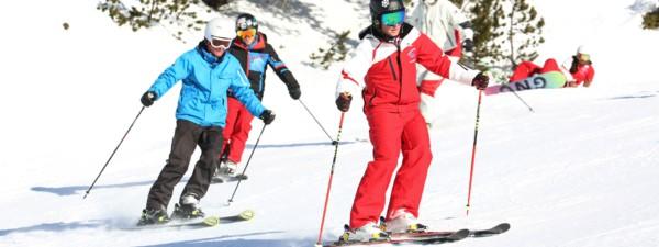 Skikurs live der Skischule Galtür