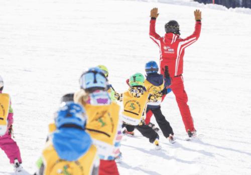 Kinder Gruppenkurs Ski See