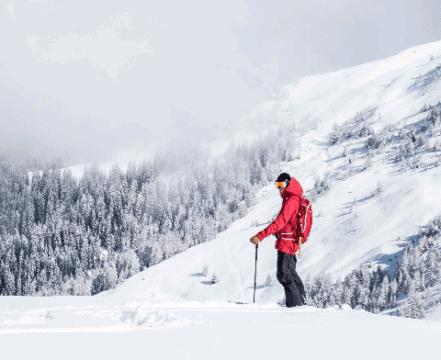 Geführte Skitouren im Skigebiet See