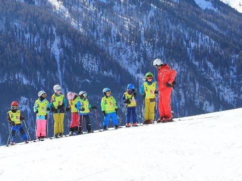 Gruppenkurs für Kinder Skischule Kappl