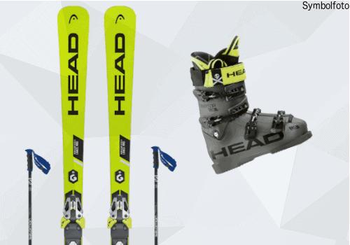 Head Ski, Salomon Skistöcke, Head Skischuhe, Erwachsene, Mogasi