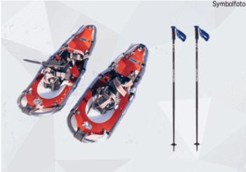 Schneeschuhe + Skistöcke Schneeschuh wander ausrüstung online buchen mogasi