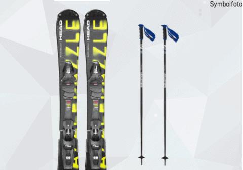 Snowblades + Skistöcke online buchen