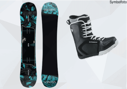 Snowboard Set Erwachsen fortgschritten ( Snowboard, Snowboard bindung, snowboard schuhe) online buchen
