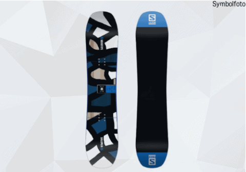 Snowboard Erwachsene Salomon fortgeschritten MOGASI