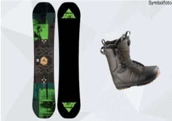 Burton Snowboard, Snowboardschuhe, Erwachsene, Mogasi, Snowboard-Set Erwachsene Anfänger