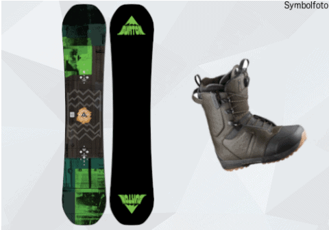 Burton Snowboard, Snowboardschuhe, Erwachsene, Mogasi