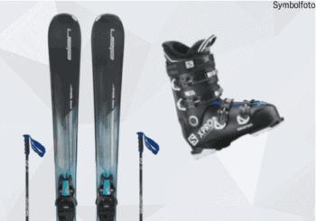 Elan Ski, Salomon Skistöcke, Salomon Skischuhe, Erwachsene, Mogasi