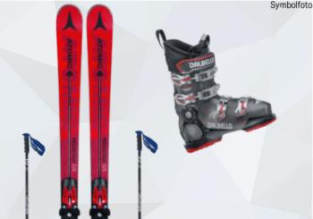 Erwachsenen Skiset fortgeschritten ( SKi, Skischuhe, Skibindung, Skistöcke) online buchen mogasi, Ski-Set Erwachsene Fortgeschritten
