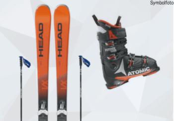 Skiset Erwachsene (Ski, Skibindung, Skistöcke) online buchen MOGASI,Ski-Set Erwachsene Anfänger
