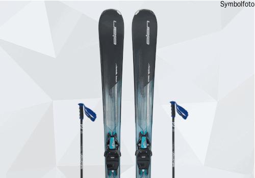 Elan Ski, Skistöcke, Erwachsene, Mogasi