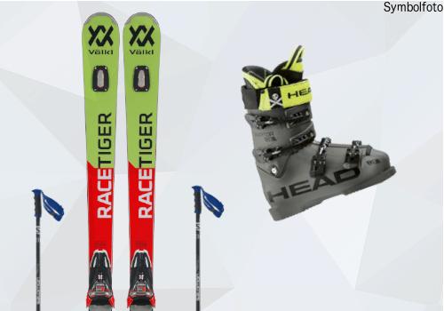 Skiset ski, skibindung, skischuhe, skistöcke, online buchen mogasi